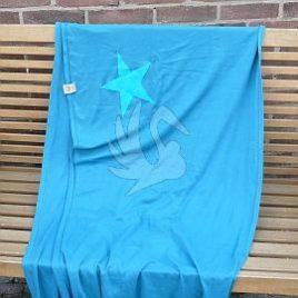 ByKay: turquoise met blauwe ster