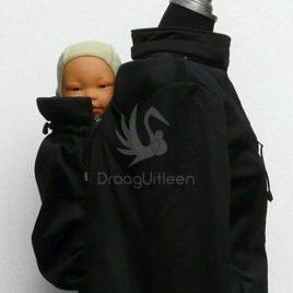 Kokadi: babywearing Coat Zwart (42)