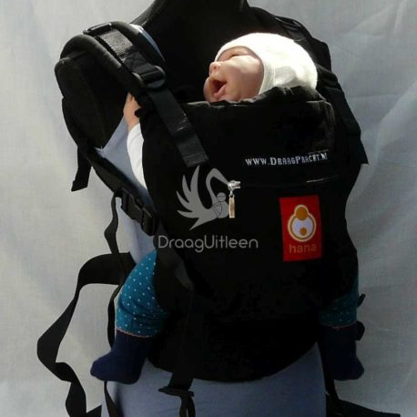 Hana baby_Carrier – Black Petrol