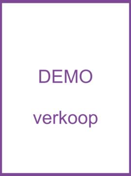 Verkoop - Demo modellen