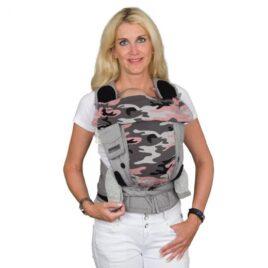 Hoppediz: Bondolino Plus – Roze/Grijs Camouflage